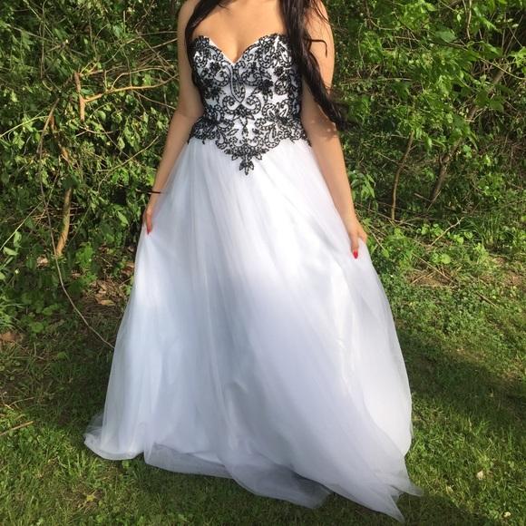 david's bridal black wedding dress - 61